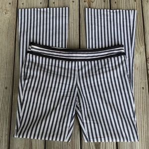 Worth New York Side Zip striped pants.  Size 4.